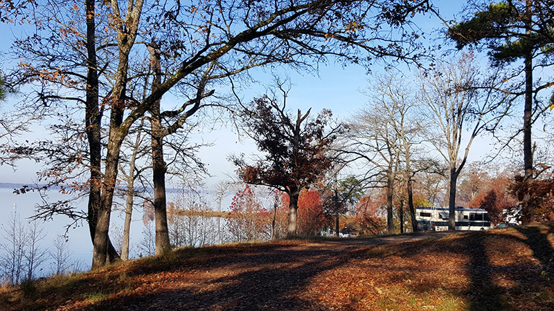 Buckhorn Park - more great lake frontage