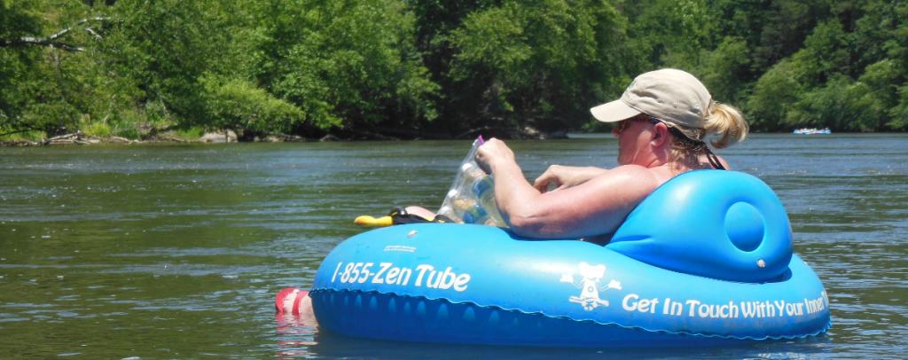 Tubing near Asheville NC