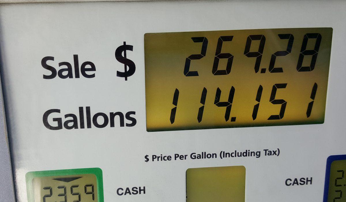 Diesel fill up